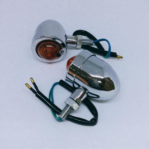 ไฟเลี้ยว (LD) คลาสสิค/ชุบ  โครเมียม No.1367 แบบกลม